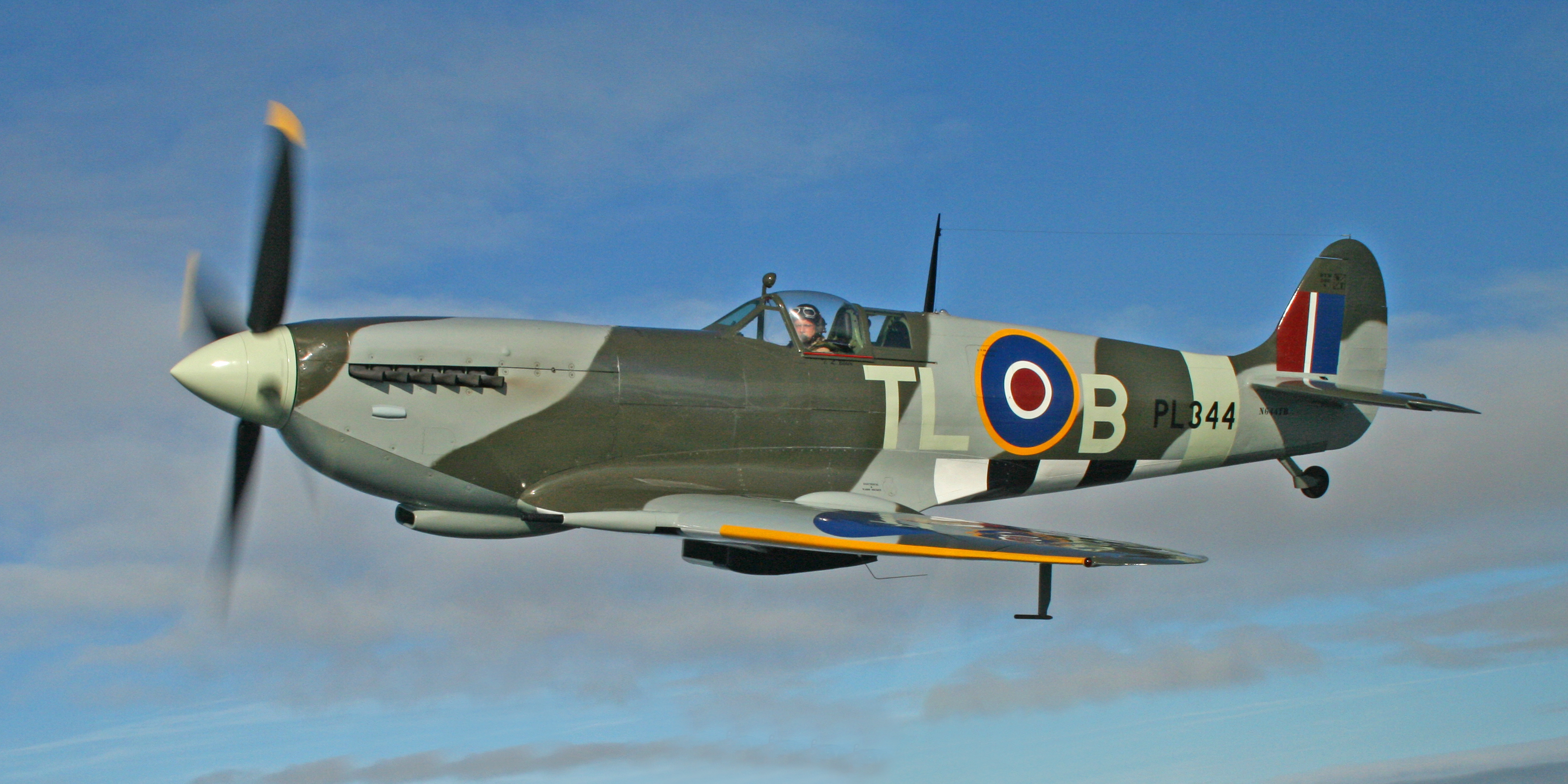 Group 51 Aircraft Sales Stallion Air Craft Warning Light Circuit 1943 Supermarine Spitfire Ixe